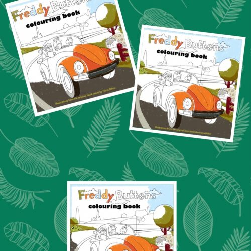 Set of 3 Colouring Books